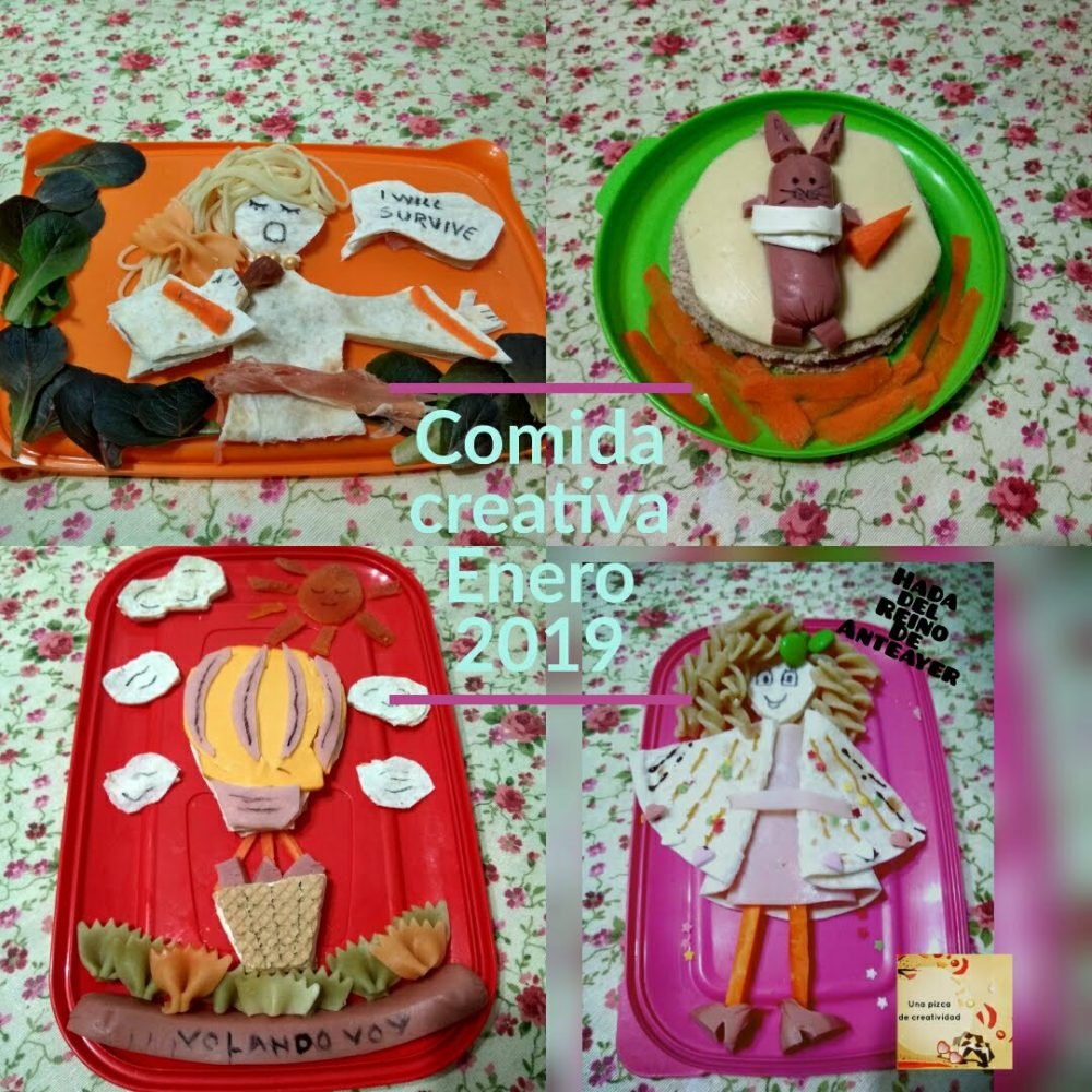 comida creativa enero 2019