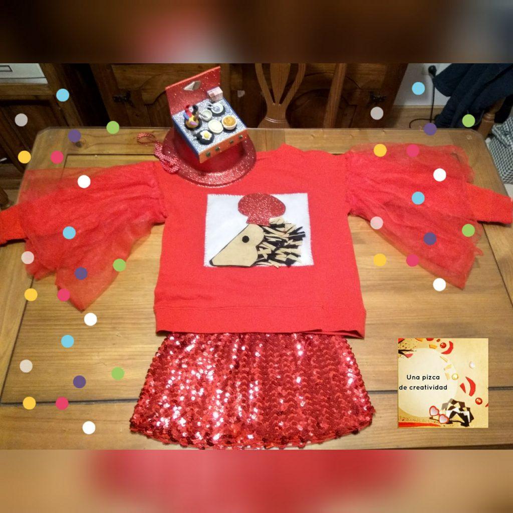 unapizcadecreatividad.com.sombrero cocina casero para carnaval3