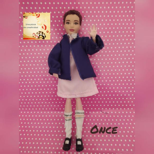 Portada muñeca Eleven Once Casera