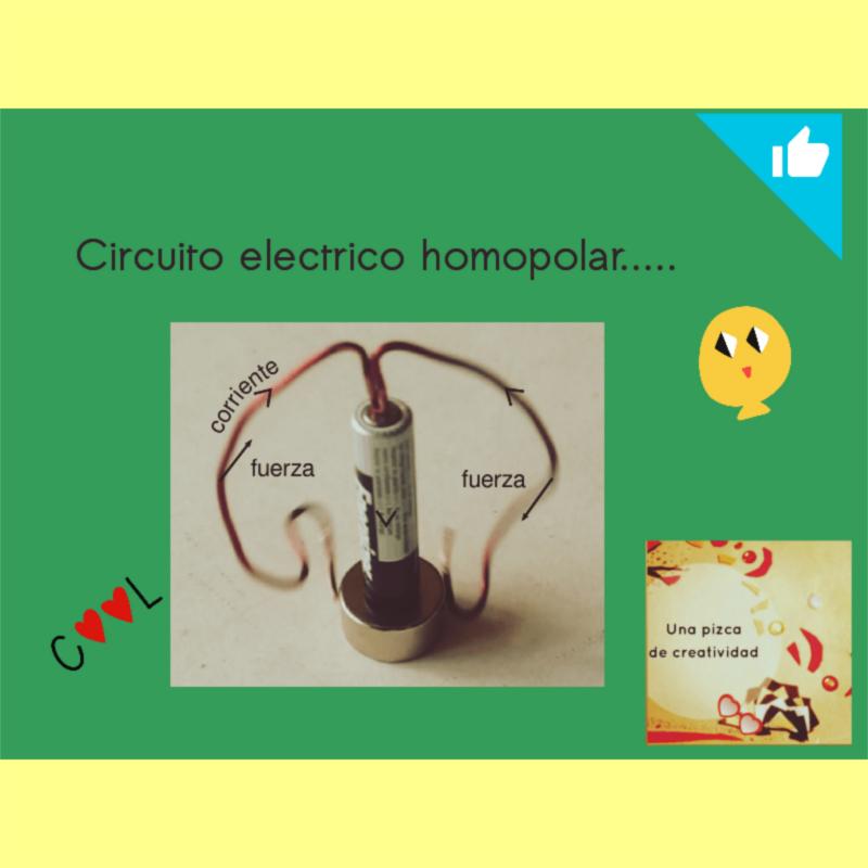 Portada Circuito electrico homopolar