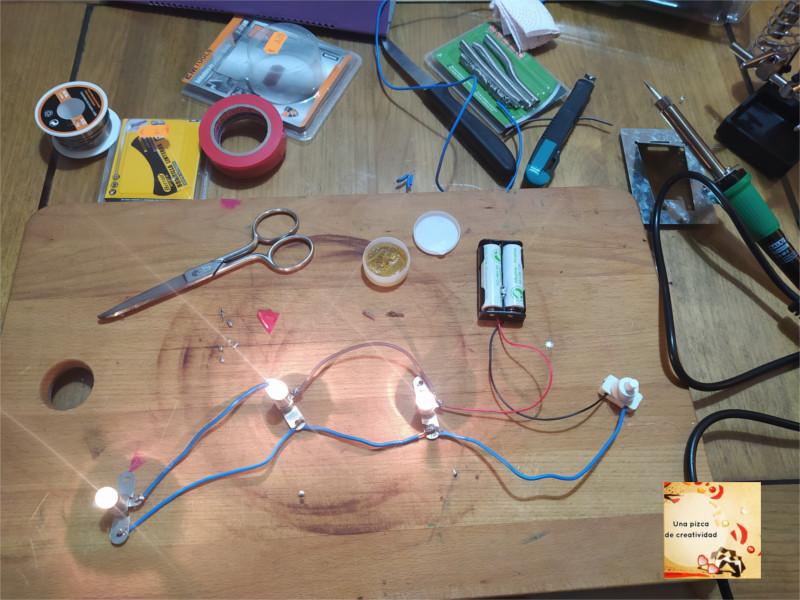 montaje de circuito electrico