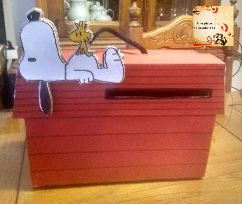 Manualidad con caja de carton